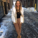 Cozy Chic: Fur and Slouchy Pants