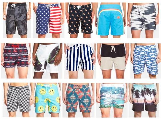 Menswear Mondays: Swimsuits